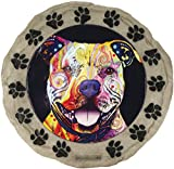Spoontiques 13281 Pit Bull Stepping Stone