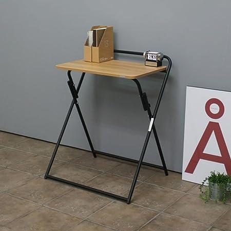 mesa plegable ZZHF portátil/extraíble/Escritorio de la computadora ...