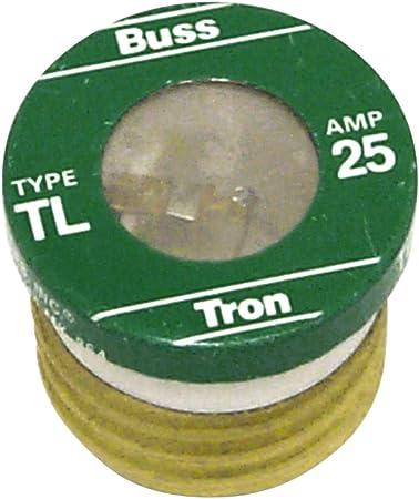 Cooper Bussmann T-25 Fusetron Fuse Box of 4