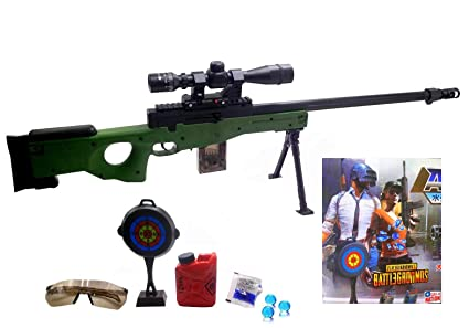 Buy Halo Nation Pubg Awm Sniper Toy Gun With Laser Target Big Size