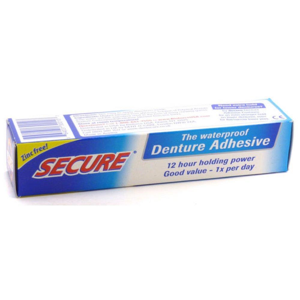 Secure Denture Adhesive >> Amazon.com : Denture Cleanser 32 Tab By Secure Denture Adhesive (1 Each) : Secure Cleansing ...