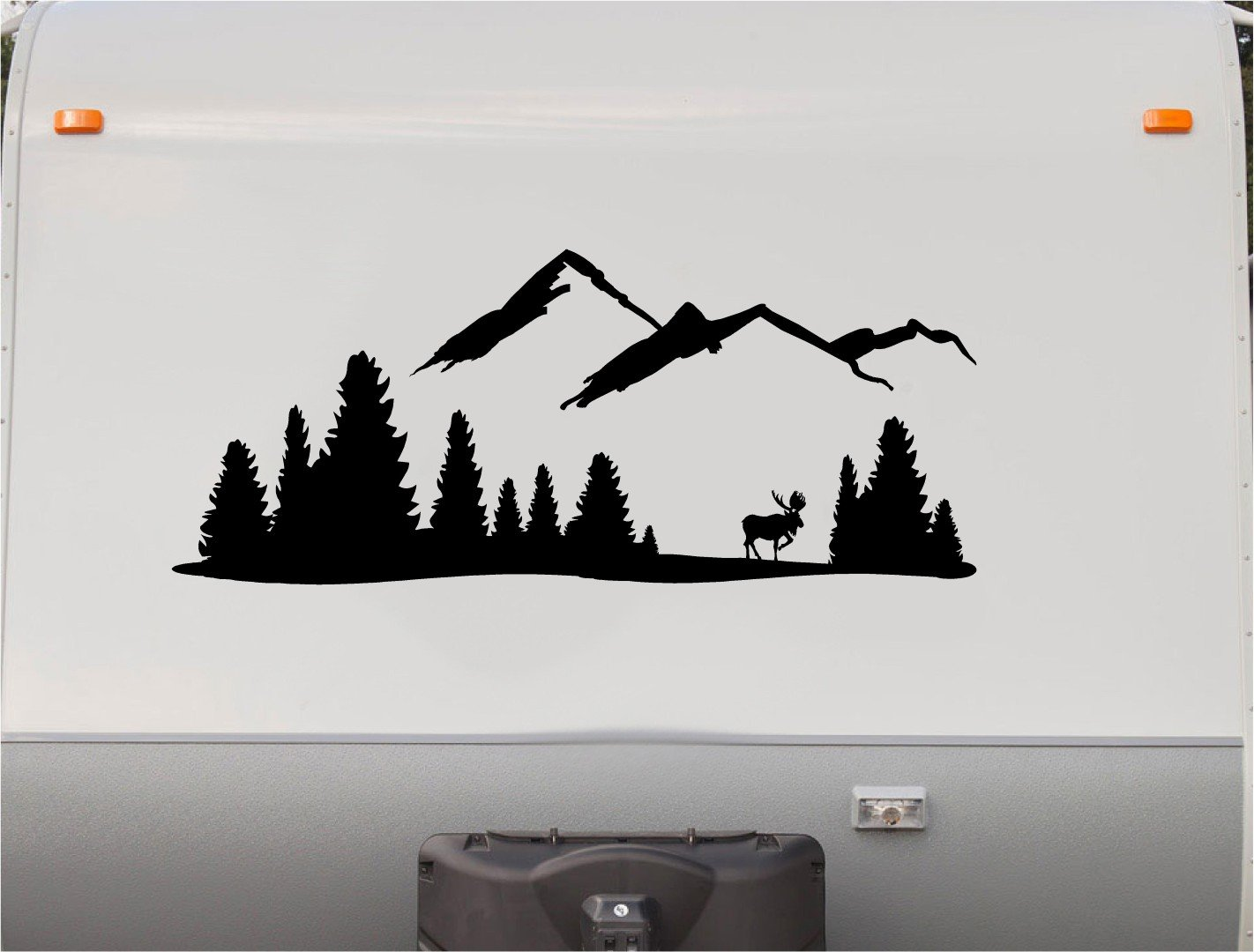 Amazon com mountains motorhome stripe kit deer rv stickers trailer stickers camper vinyl decal sticker graphic motorhome decals rv stripe kit