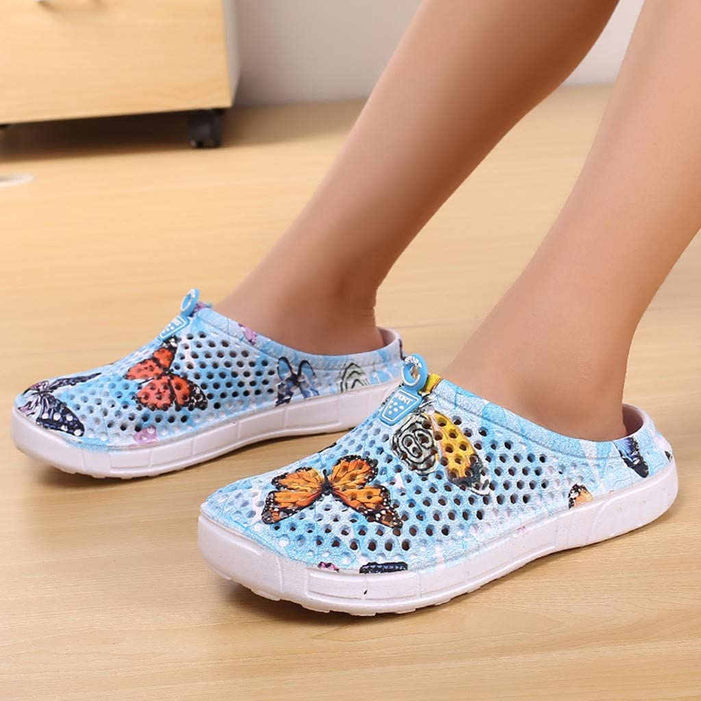 Garden Clog Shoes Beach Footwear Water bash Womens Summer Slippers Swimming Diving Surf Yoga Hiking Sport Exercise Gray