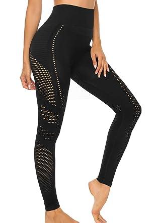 FITTOO Leggings Mallas Mujer Pantalones Deportivos Yoga Alta ...