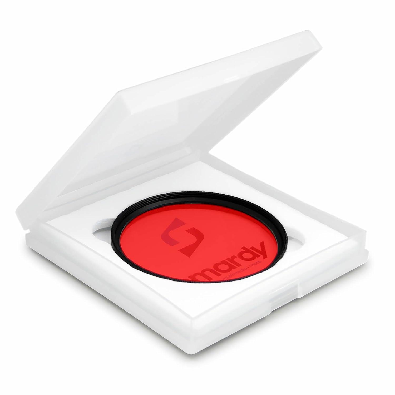 NEX-F3 y mucho m/ás smardy Filtro de color rojo 49 mm para Sony Alpha 3000 NEX-C3 High-Tech pa/ño de limpieza Alpha 7R NEX-3 NEX-5R NEX-7 NEX-5 NEX-5N