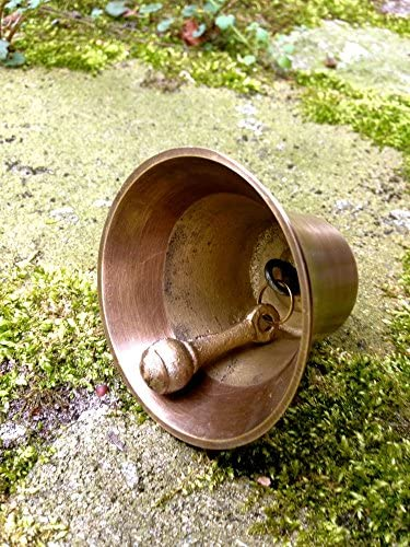 Ziehklingel holländische Klingel Alt-Messing Türglocke Türklingel wie antik