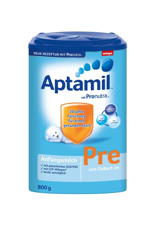 Aptamil Pre Anfangsmilch mit Pronutra - 9er Pack (9 x 800g)