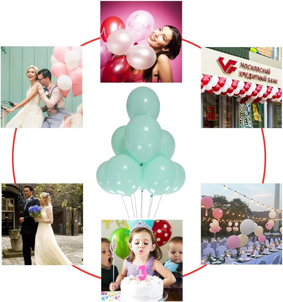 AZOWA Royal Blue Latex Balloons 5 inch Small Party Balloons Pack of 200 for Wedding Baby Shower Birthday Party Decorations