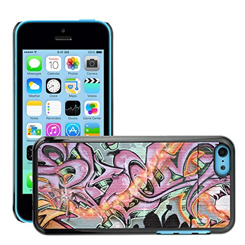 Premio Sottile Slim Cassa Custodia Case Cover Shell // V00002255 Graffiti spraypainted // Apple iPhone 5C