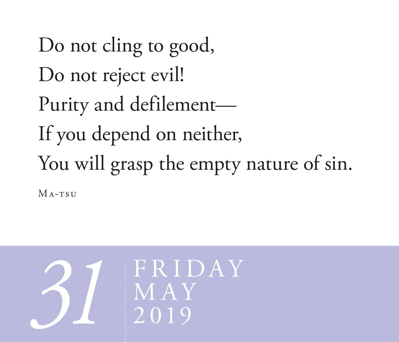 Amazon Zen Page A Day Calendar 2019 9781523503377 David