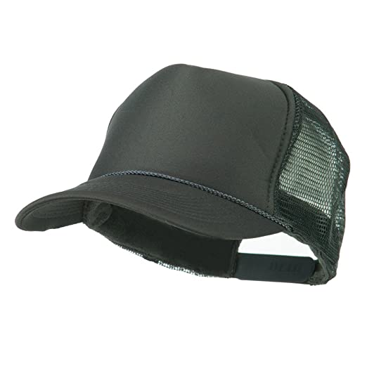 82f93afda356d Foam Front Golf Style Mesh Back Cap - Charcoal OSFM at Amazon Men s ...