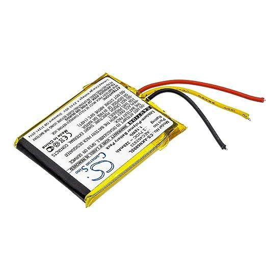 Amazon com: Sunsamy Backup Wireless Headset Battery 320mAh