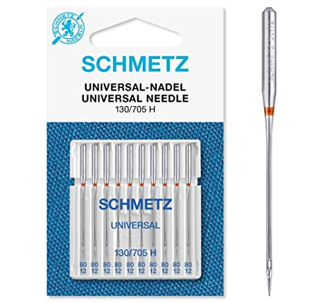 Agujas para Máquinas de Coser Schmetz 130/705 grosor 80 ...