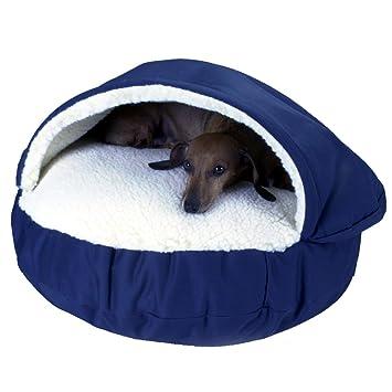 Snoozer Cozy Cueva, Azul Marino, Small: Amazon.es: Productos para mascotas