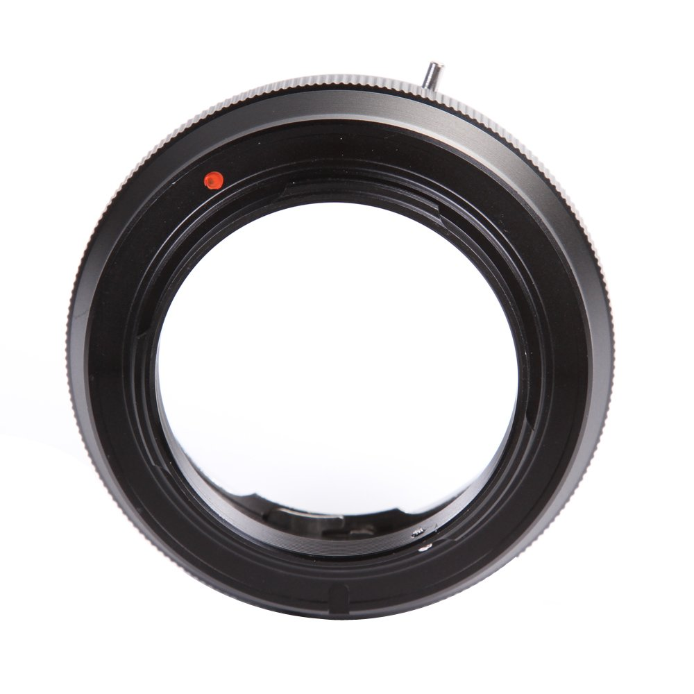 FocusFoto FOTGA Adapter Ring for Konica Auto-Reflex AR Lens to Sony E-Mount Mirrorless Camera NEX-7 6 5T 5R 7 a7 a7S a7R a7II a7SII a7RII a6500 a6300 a6000 a5100 a5000 a3500 FS700 VG30 VG900 PXW-FS7