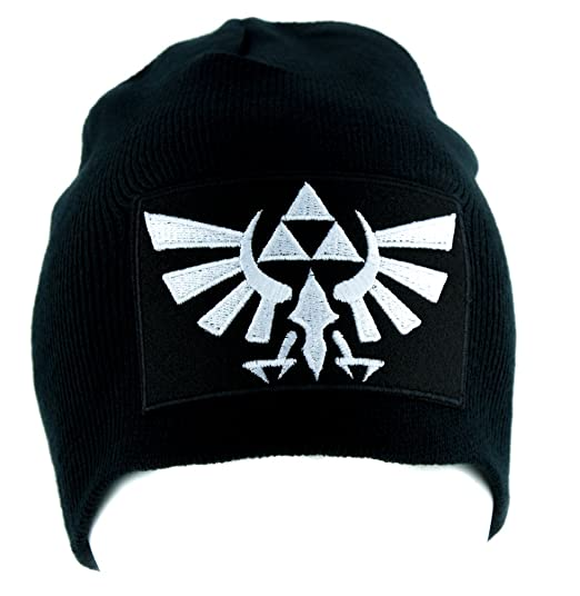 87dbee9575f Wingcrest Hyrule Legend of Zelda Triforce Beanie Alternative Clothing Knit  Cap  Amazon.ca  Clothing   Accessories
