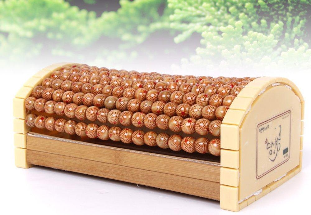 Cypress Wood Bead Ball Massage Pillow for head neck
