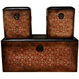 Oriental Furniture Olde-Worlde European Storage Boxes (Set of 3) Review