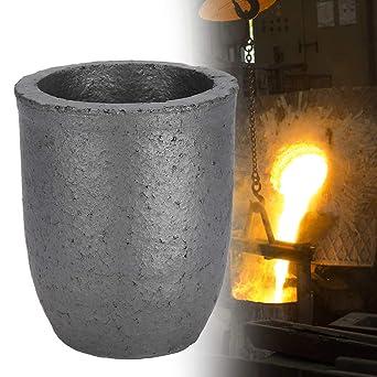 8 kg de crisol de grafito crisol de carburo de silicio en forma de ...