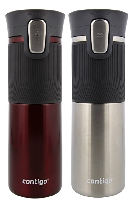 CONTIGO Mug Autoseal Spill Proof Stainless Thermal Travel 473ml 2019 Edition NEW