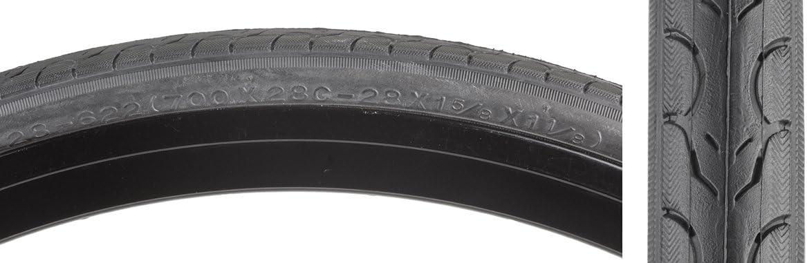 Tyres k153 28 Slick 700x23-Para Black Kenda City Bike