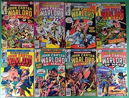 JOHN CARTER WARLORD OF MARS #1-28,Annual 1-3 Edgar Rice Burroughs