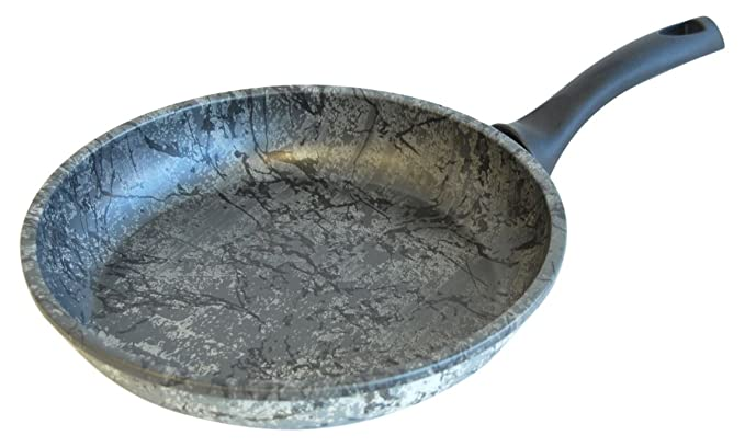 Amazon.com: Tosca 80582.01 Carucci Giove 11 Inch Frying Pan, Marbeled Grey: Kitchen & Dining