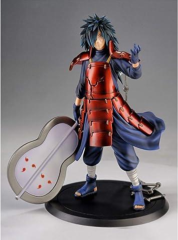 Mini Figurine 1//9 avec Base Naruto Hauteur 18CM Madara Uchiha Siyushop Naruto Shippuden