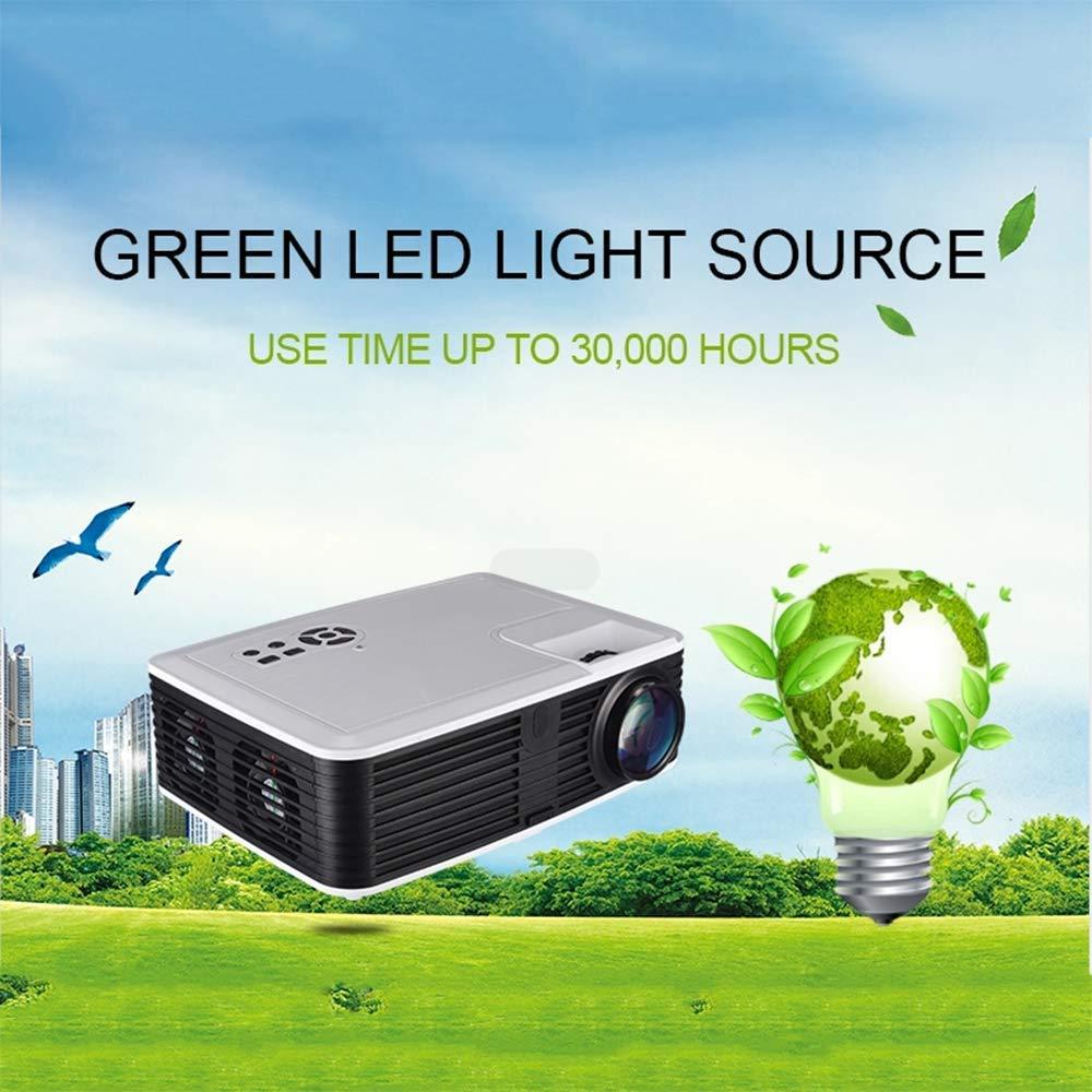 1080P Mini proyector, proyector Portable, proyector de película ...