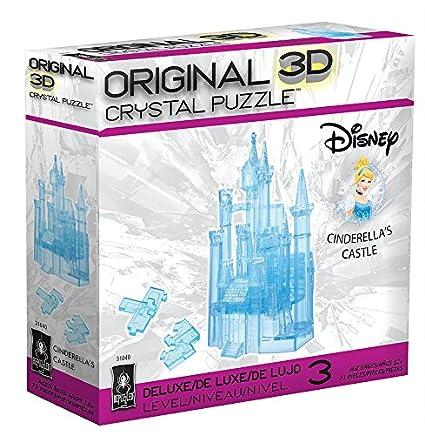 Amazon Deluxe Disney 3d Crystal Puzzle Cinderella Carriage