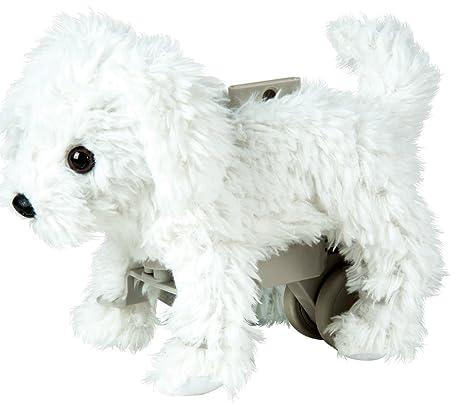 Mascotas Divertidas - Peluche Mi Amigo scamps Bichon Maltes (Bizak 63250001)