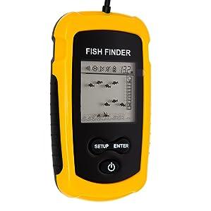 Venterior Portable Wired Fish Finder