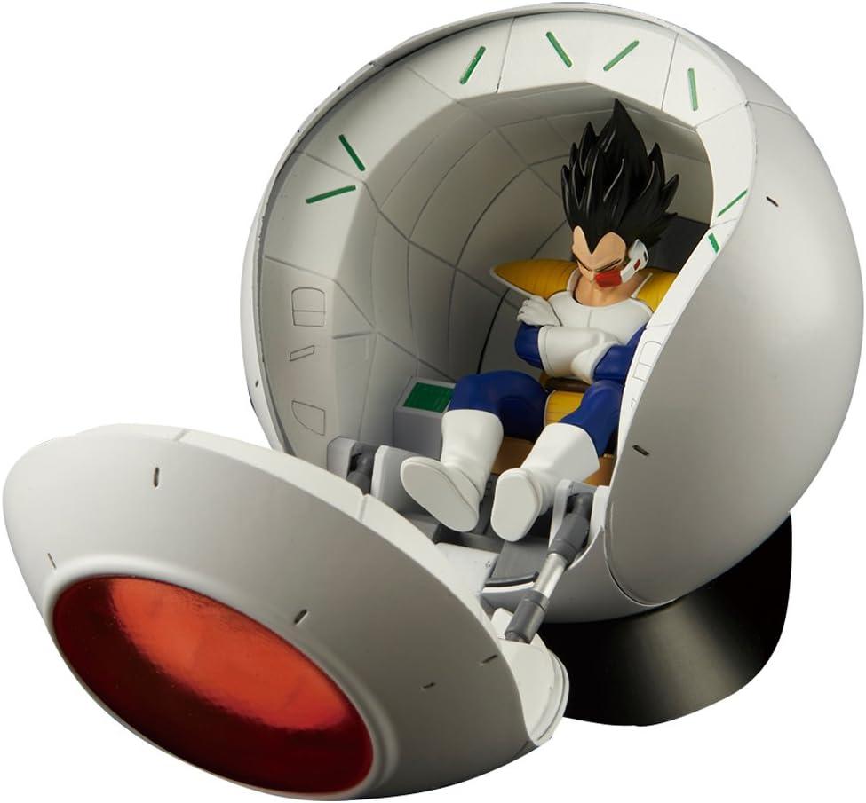 Bandai Hobby- Saiyan Space Pod Model Kit Replica 25 cm Dragon Ball Z Figure-Rise Mechanics 83330P, Multicolor (BDHDB105268)