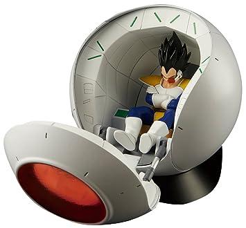 Bandai- Figure-Rise Mechanic Dragon Ball Maqueta Saiyan Space Pod w/Vegeta, (Banpresto BAN83330)