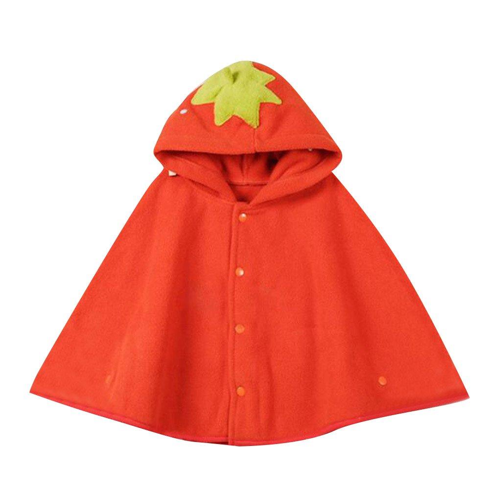 hibote Bébé Kids Outwear Hood Cape Cape Cape d'hiver chaude à capuche Cape Poncho Coat R170929DP021HN