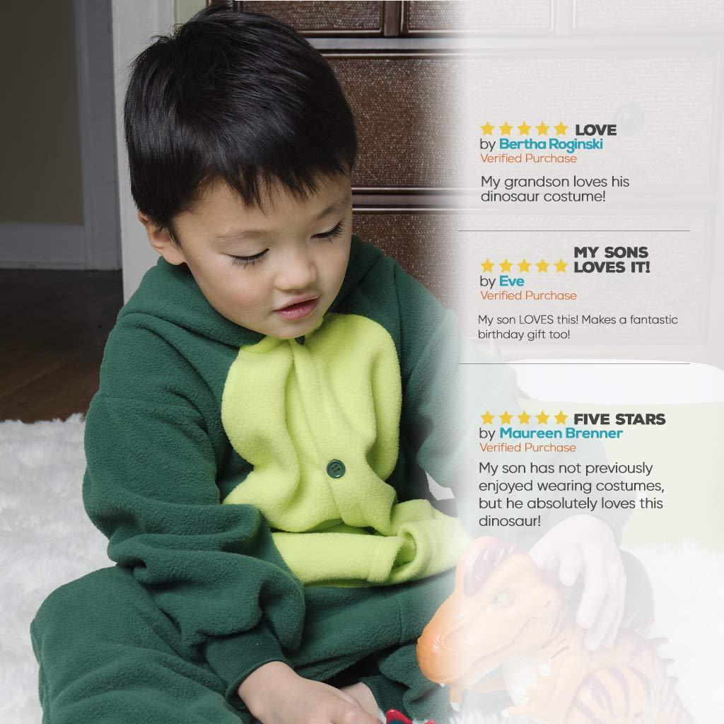 Soft and Comfortable with Pockets Emolly Fashion Kids Animal Dinosaur Pajama Onesie