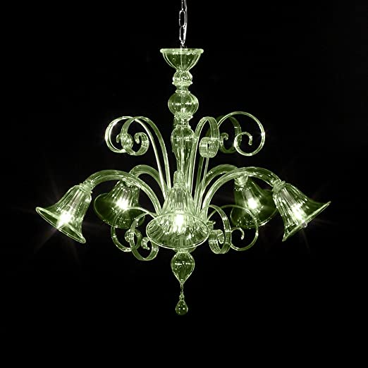 Murano Glass Chandelier </div>