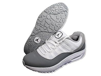 6d8de58582718f Jordan Comfort Vis 11 Men s Basketball Shoes - White Black Cool Grey -  444905