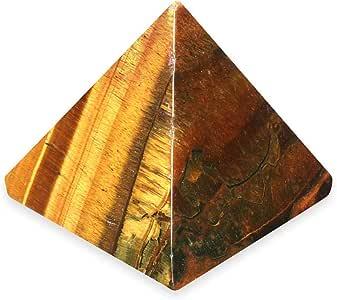 Pirámide de ojo de tigre – yte2 – Mini: CrystalAge: Amazon