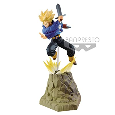 Dragon Ball Super Trunks Absolute Perfection Statue: Toys & Games