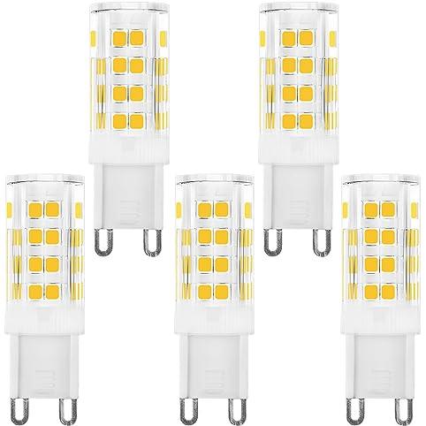 KINDEEP Dimmable G9 LED Bulb 40W Equivalent, AC 120V 4W, Warm ...