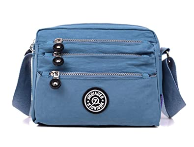 f03c22938c Small Lightweight Nylon Crossbody Purses and Shoulder Handbags for Women Sports  Crossbody Bag Messenger Bags for