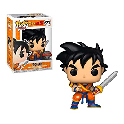 Funko Pop Animation Dragon Ball Z Young Gohan with Sword Insider Club Exclusive: Toys & Games