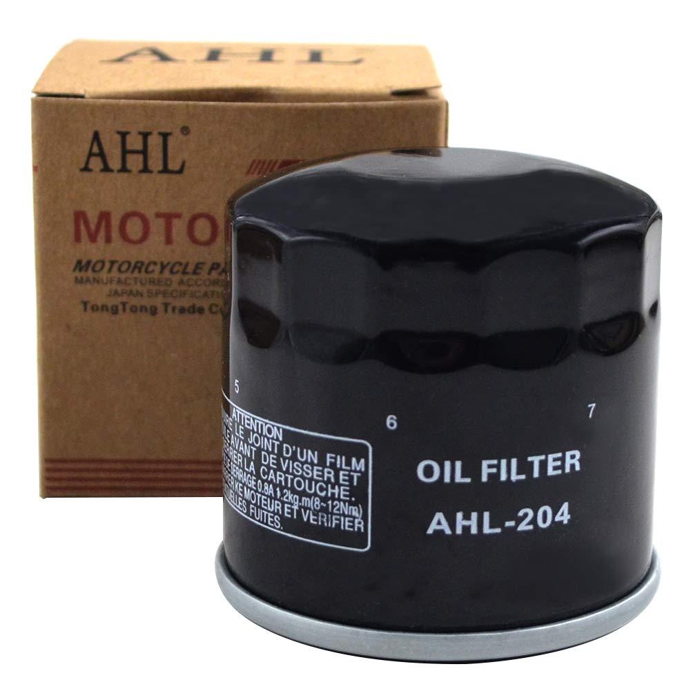 CB600S hornet 600 2003 AHL 1 x Filtre /à huile Noir pour CB600 hornet 600 2004-2011