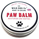 Dog Paw Balm 100% Natural. Soothing and moisturising, great for cracked paws, smooths rough dry paws. Made in the UK