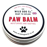 Dog Paw Balm, the original UK-made 100% natural paw butter for dogs. Soothing, moisturising, for cracked paws, smooths rough dry paws. Made in the UK