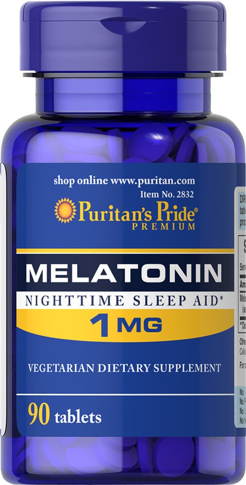 Amazon.com: Puritans Pride Melatonin 1 mg-90 Tablets: Health & Personal Care