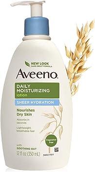 Aveeno Sheer Hydration Daily Moisturizing Lotion 12-oz. Bottle