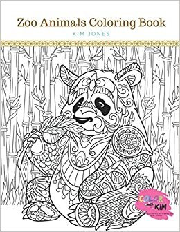 Amazon.com: ZOO ANIMALS: A Zoo Animals Coloring Book (9781983033827 ...