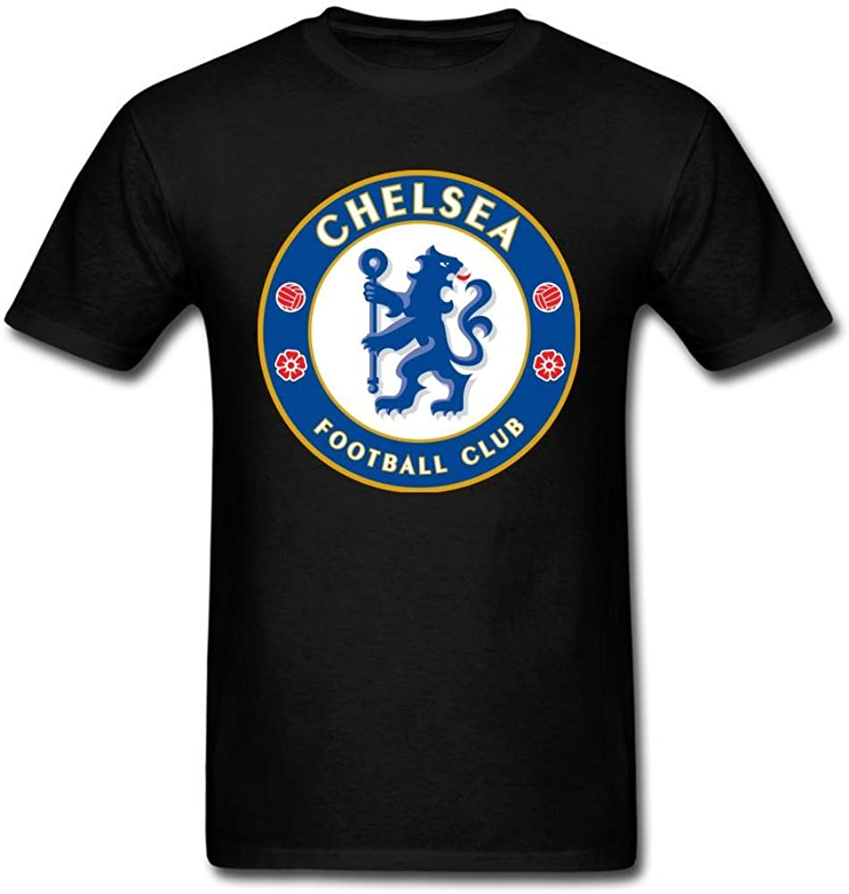 JXK Men's Fc Chelsea Logo T-Shirt M ColorName Short Sleeve